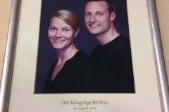 Norska kungaparets bröllop